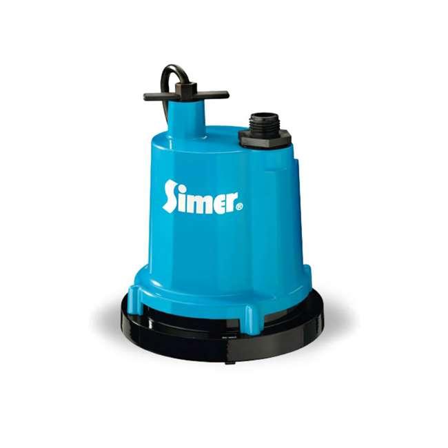 2310-04 Simer 2310-04 Geyser Classic 1/4 HP Submersible Utility Pump