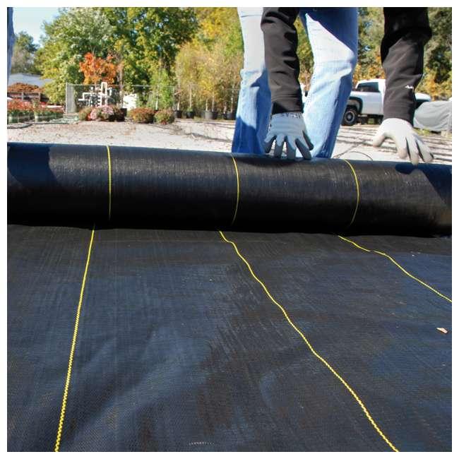 DWT-SBLT3300-U-A DeWitt Sunbelt 3' Woven Weed Barrier Fabric Cover, 300 Feet (Open Box) (2 Pack) 2