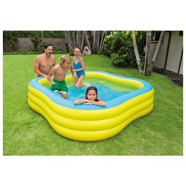 Intex swim center inflatable family swimming pool 57495ep Intex inflatable swimming pool