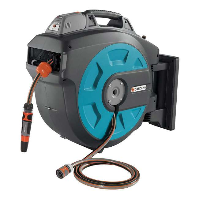 GARD-08025-20 Gardena Wall Mounted Automatic 115-Foot Hose Box