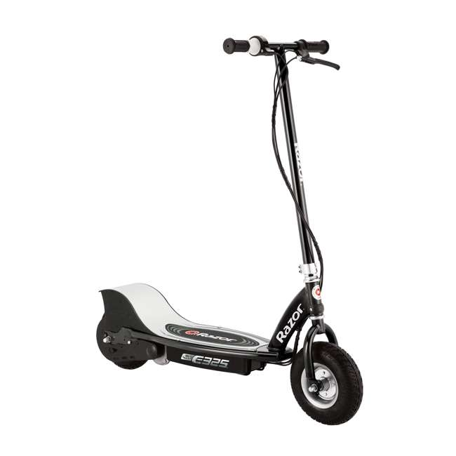 13116312 + 13116397 Razor E325 Electric Motorized Scooters, 1 Silver & 1 Black 2