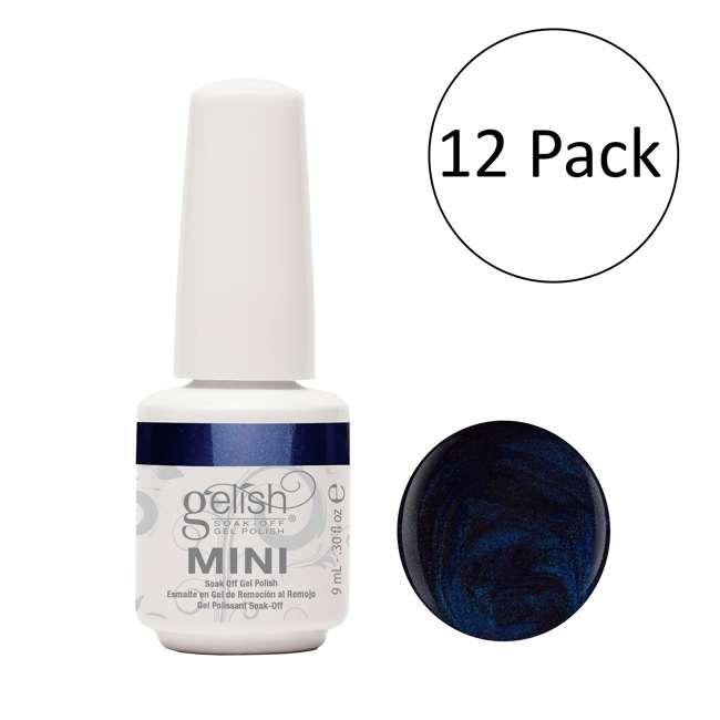 12 x 04304-Caution Gelish Mini Caution UV LED Gel Nail Polish Bottle, 0.3 oz (12 Pack)