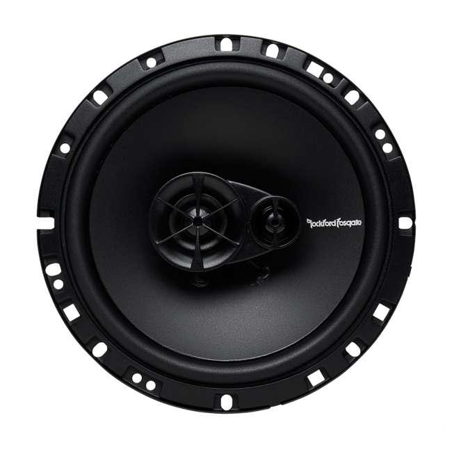 "R165X3-U-A Rockford Fosgate 6.5"" 90W 3 Way Car Audio Coaxial Speakers (Open Box) (4 Pack) 2"