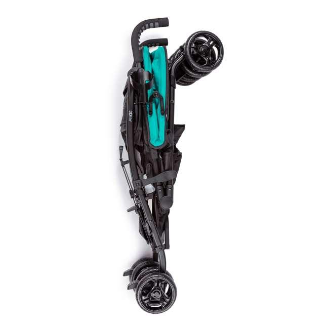 32693 Summer Infant 3Dlite Lightweight Folding Convenience Toddler Baby Stroller, Teal 6