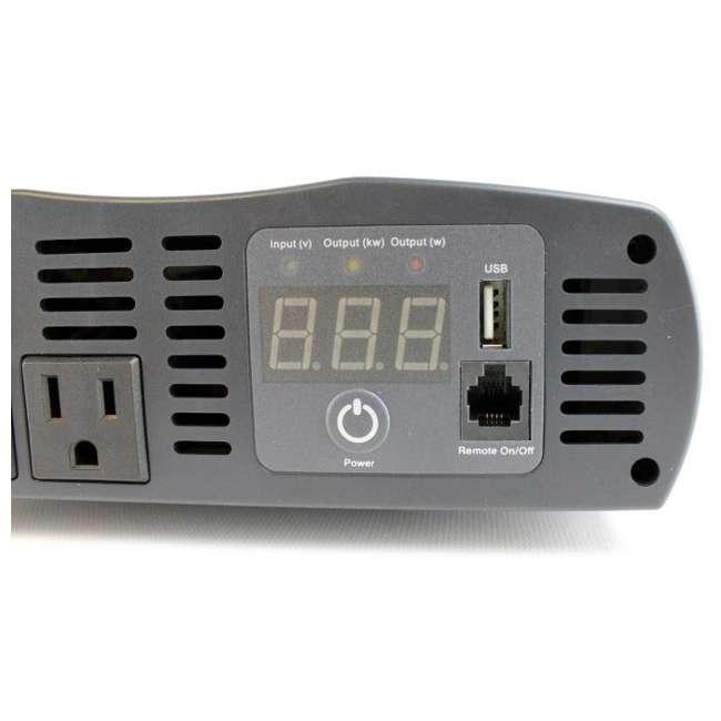CPI1575 + CPI-A400BC Cobra DC to AC Power Inverter + Cable Kit 4
