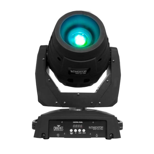 INTIM-SPOTLED350 + 2 x CUBIX Intimidator Spot 350 CHAUVET LED Moving Head DJ Lights (2) + Cubix Lights (2) 8