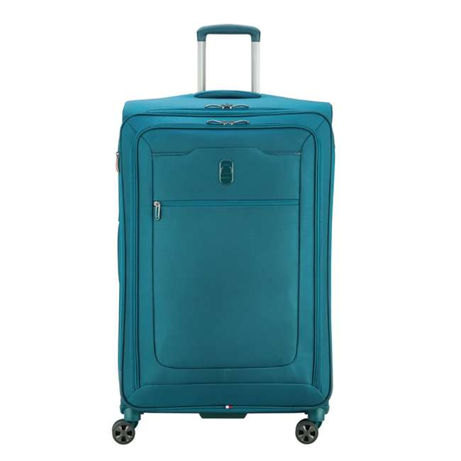 "40229183032 DELSEY Paris 29"" Expandable Spinner Upright Hyperglide Luggage Suitcase, Teal"