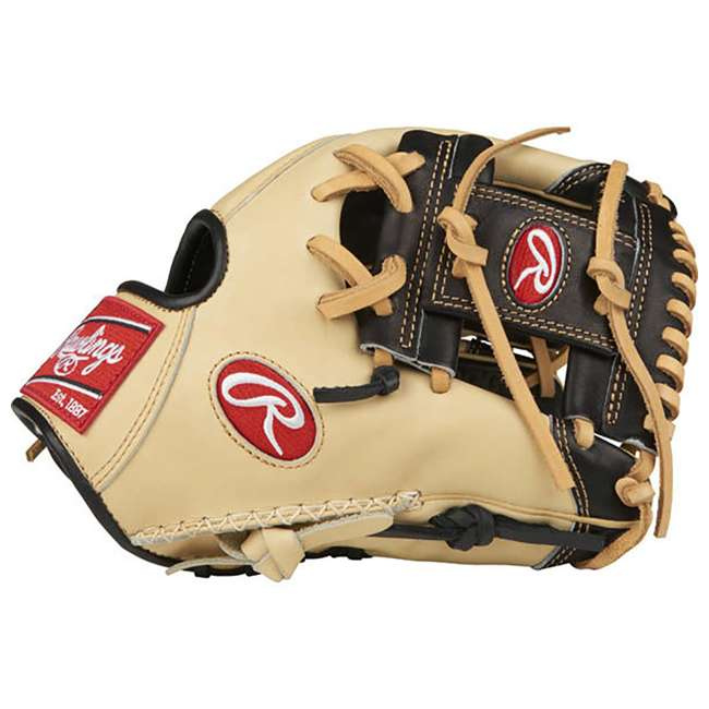 "PRO204-2BCC-OB Rawlings Pro Label 11.5"" Adult Right Hand Infield Baseball Glove (Open Box)"