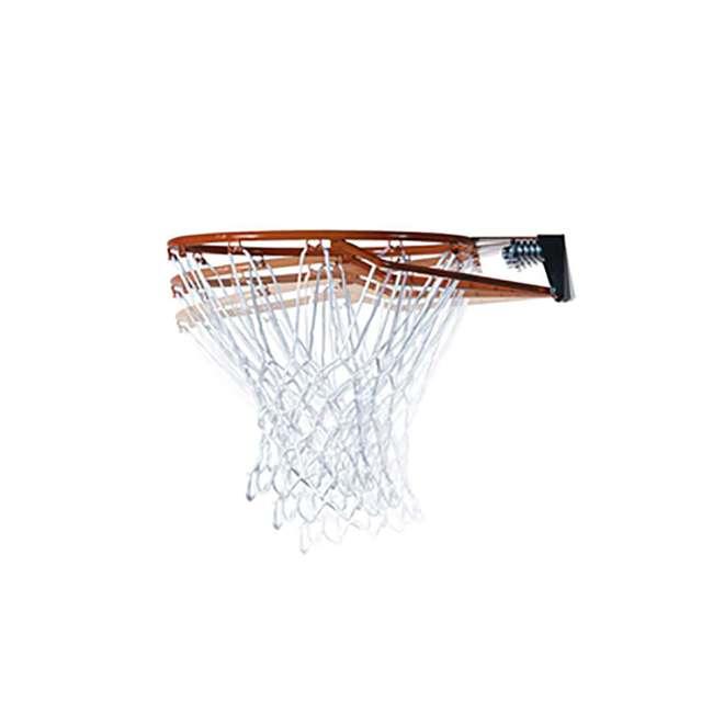 90601 Lifetime Adjustable All Weather Shatterproof Basketball Sports Hoop (Used) 5