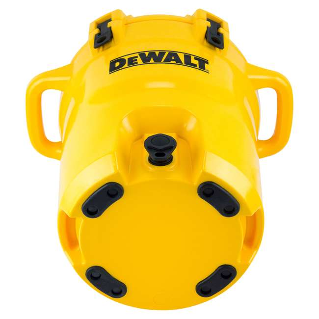 DXC5GAL-U-A DeWALT 5 Gallon Water Jug Dispenser Cooler w/ Spout & Handles, Yellow (Open Box) 1