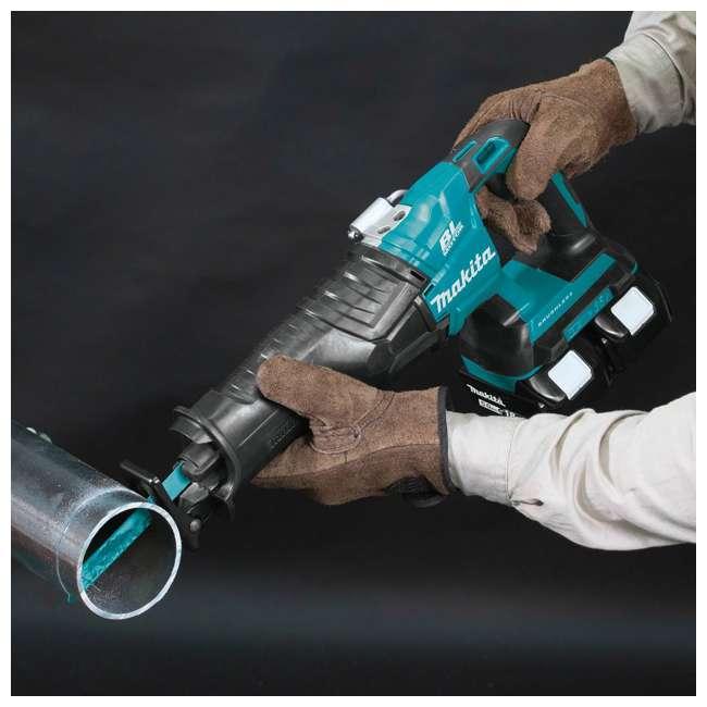 XRJ06PT-OB Makita 18V X2 LXT 5 Ah Li-Ion Brushless Cordless Recipro Saw Kit (Open Box) 8