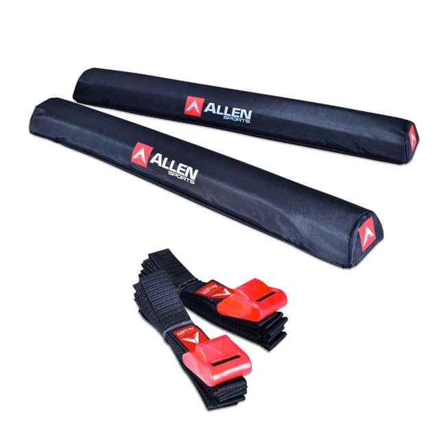 7010SU Allen Sports 24-Inch Rooftop Surfboard Rack Set (2 Pack) 1