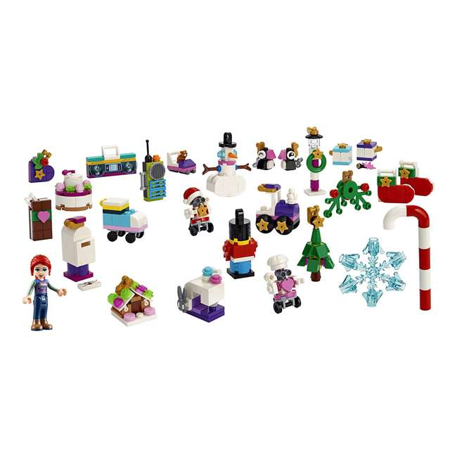 6251675 LEGO Friends 41382 2019 Advent Calendar Building Kit w/ 1 Mia Mini-Doll Figure 1
