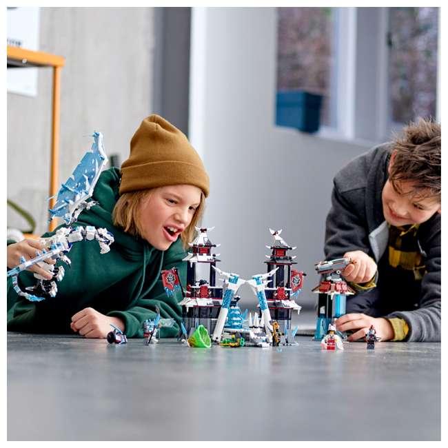 6250938 LEGO Ninjago Castle of the Forsaken Emperors 1218 Piece Kit with 7 Minifigures 6