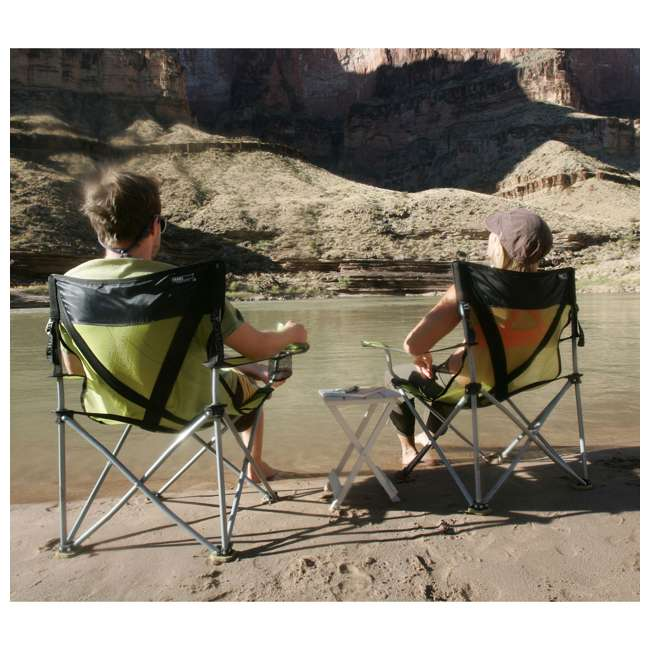 579VB TravelChair 579V Teddy Folding Portable Camping Hunting Nylon Mesh Chair, Blue 3