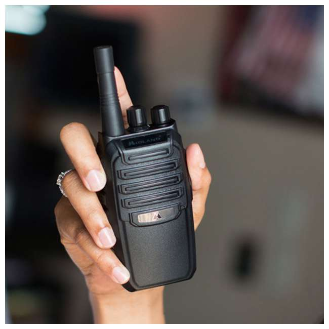 BR200-U-B Midland BizTalk 16 Ch. 2 Way Handheld Walkie Talkie Business Band Radio (Used) 3