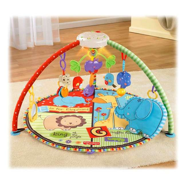 Fisher price luv u zoo deluxe musical mobile gym t6339 - Tapis d eveil fisher price zoo deluxe ...