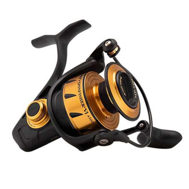 SSVI4500 Penn SSVI4500 Spinfisher VI Sealed Body and Spool Spinning Fishing Reel, Gold