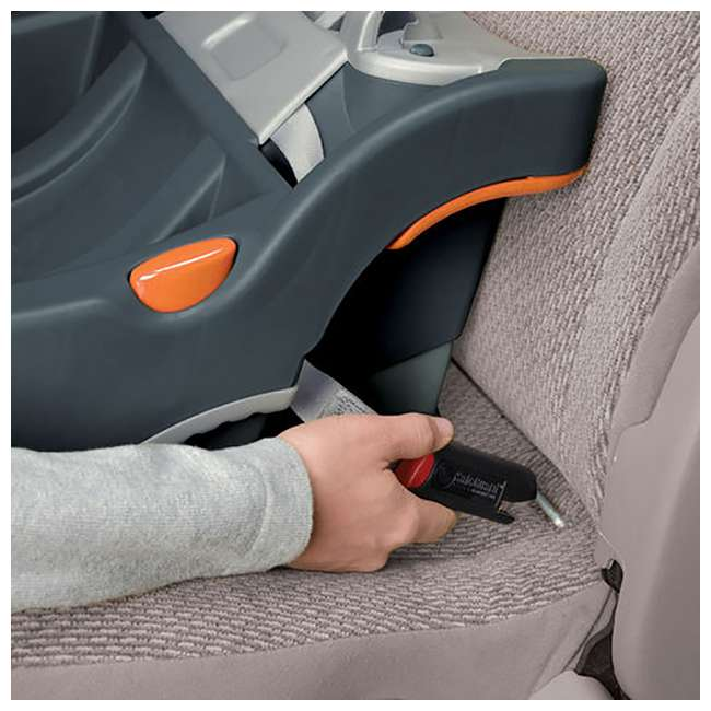CHI-0807904302 + 2 x CHI-0607905222 Chicco Together Double Stroller and Rear Facing Car Seat, Coal (2 Pack) 9