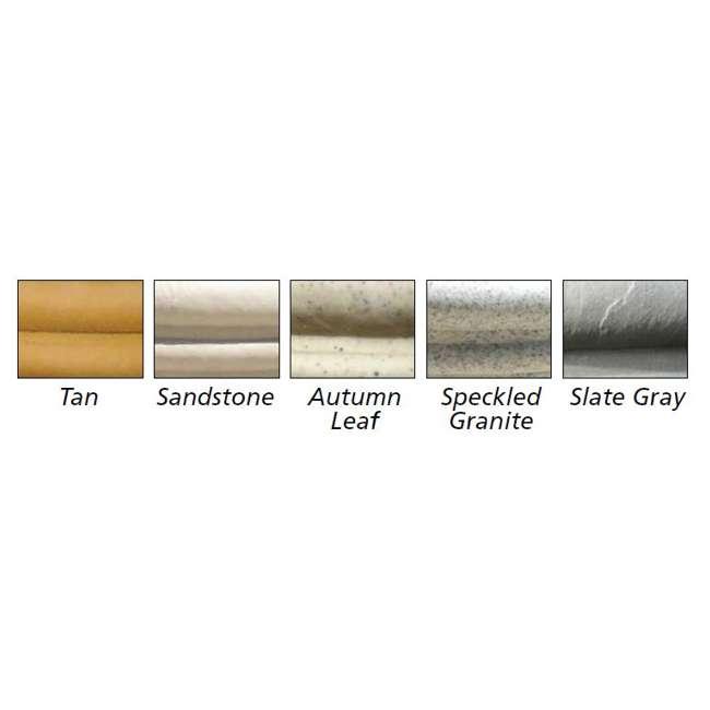 CUPL-2407SS Qualarc Stone Patio Cubic Planter Pot Sandstone 24-Inch 2