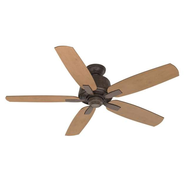 54133 Casablanca 54133 Areto 54 Inch Ceiling Fan with 5 Blades, Industrial Rust