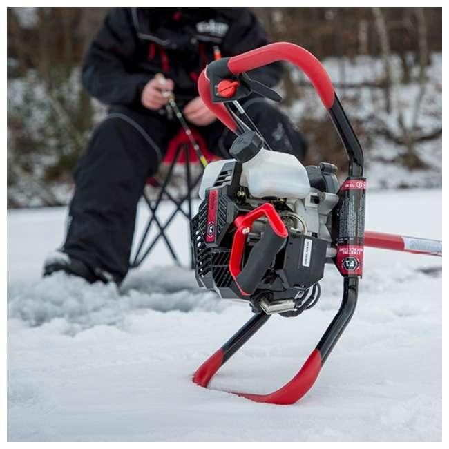 ESK-F1R08-OB Eskimo F1 Rocket 8-Inch 33cc Gas Engine Ice Fishing Drill Auger (Open Box) 1