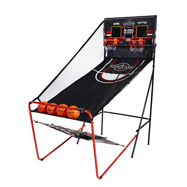 BBG019_018P Lancaster 2-Player Electronic Arcade 3-in-1 Basketball, Football, Baseball Game 3