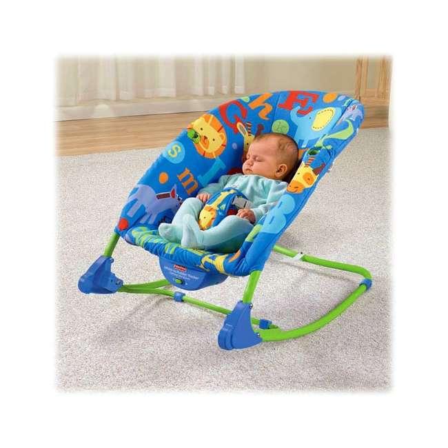 T4257 Fisher-Price Deluxe Animal Alphabet Infant-to-Toddler Rocker 2