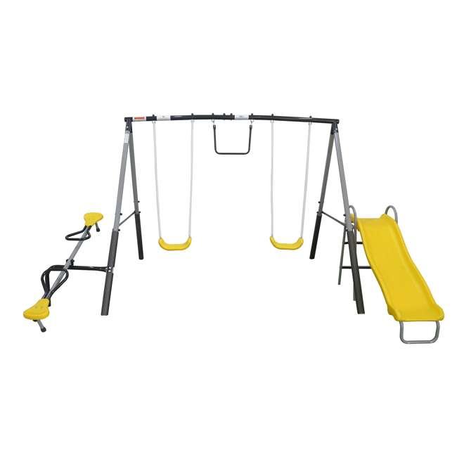 XDP-74506K XDP Recreation The Titan Outdoor Playground Kids' Swing Set