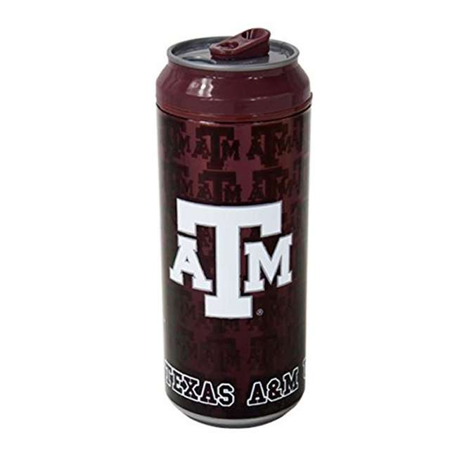 06145-TA&M-CAN Cool Gear Texas A&M Aggies College Football Tailgate Chiller Can | 16oz