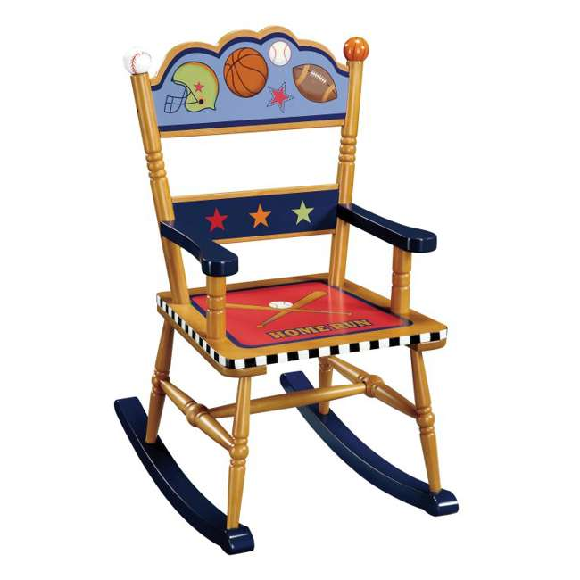 G85601 Guidecraft Playoffs Rocking Chair