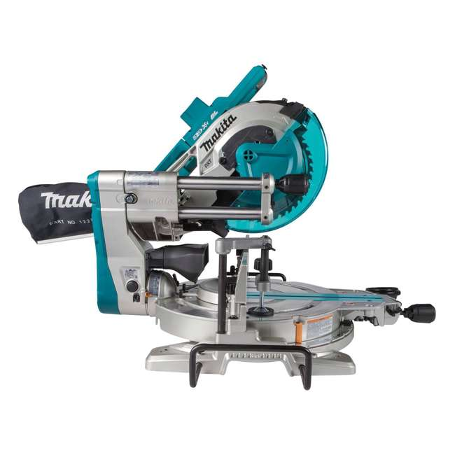 "XSL06Z-U-B Makita X2 LXT Brushless 10"" Dual Slide Compound Miter Saw, Tool Only (Used) 1"