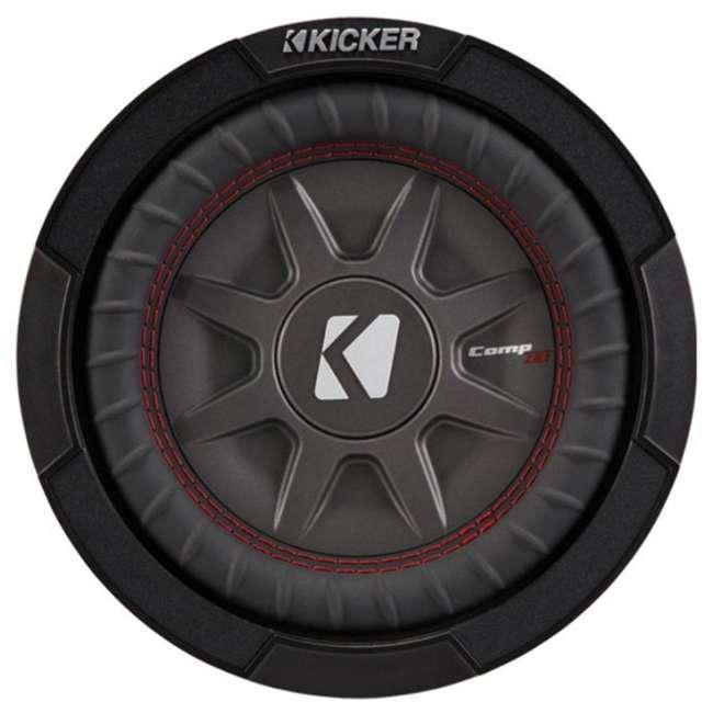 43CWRT82 Kicker 8-Inch 600 Watt CompRT Shallow Subwoofer