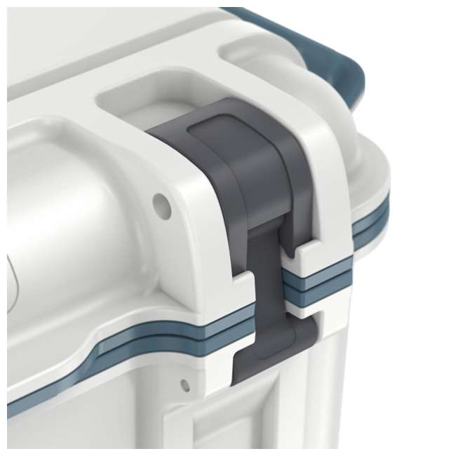77-54868 Otterbox Venture Heavy Duty Outdoor Camping Fishing Cooler 65-Quarts, White/Blue 9