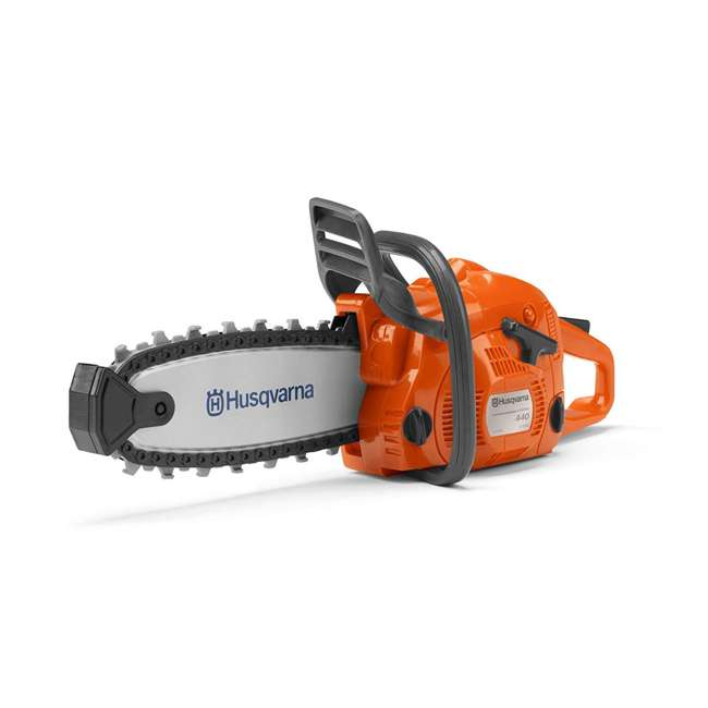 HV-TOY-522771104 + 2 x HV-TOY-589746401 + 2 x HV-T Husqvarna Chainsaw, Leaf Blower, Hedge Trimmer & Lawn Trimmer Toys 2-Packs Each 1
