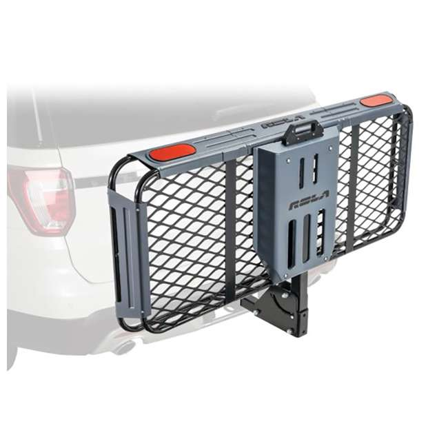 ROLA-59550-U-C ROLA Rear Mounting Basket Style Cargo Carrier for 450 lbs, Black (For Parts) 4