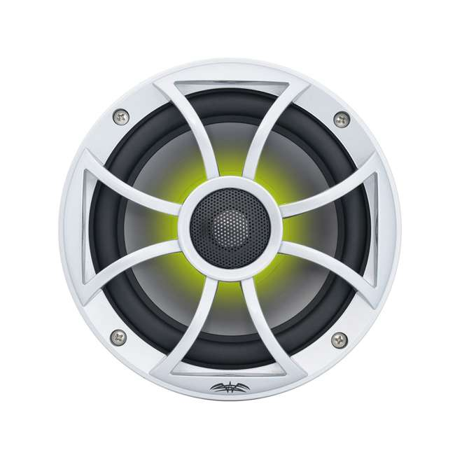 "RECON6SRGB Wet Sounds Recon 6.5"" 2-Way Marine Speakers w/ LED lights 6"