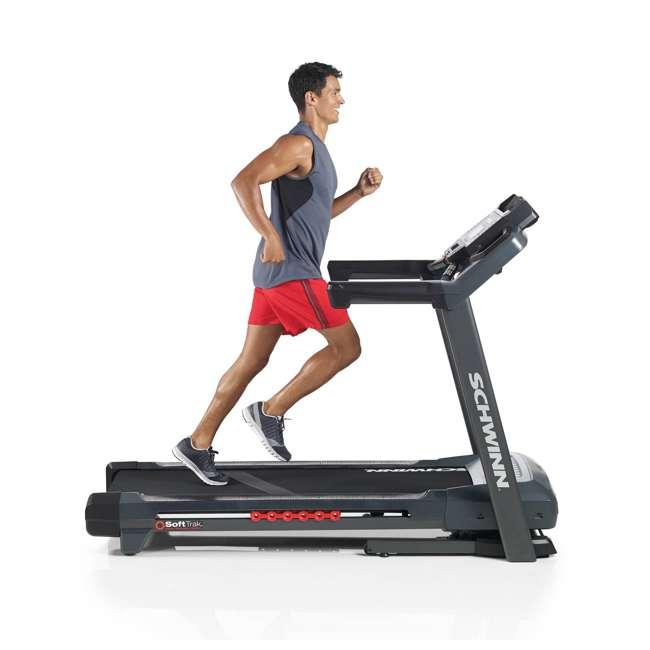 SCHWINN-100519-OB Scwhwinn Fitness 870 Home Workout Treadmill (Open Box) 5