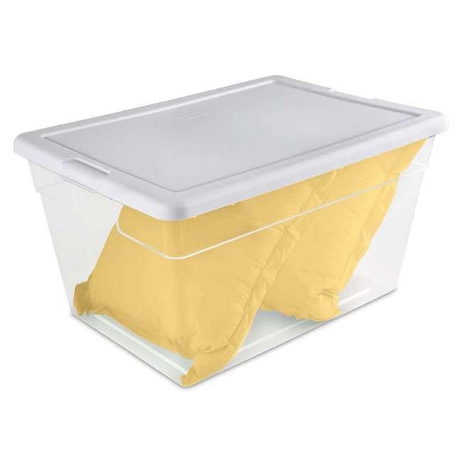 48 x 16598008 Sterilite 16558008 56-Quart Storage Box, 48 Pack 1