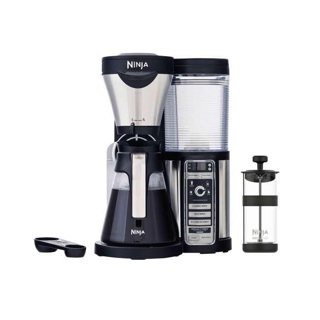CF080_EGB-RB-U-B Ninja  Coffee Bar Machine Drip Maker with Carafe  (Certified Refurbished) (Used)