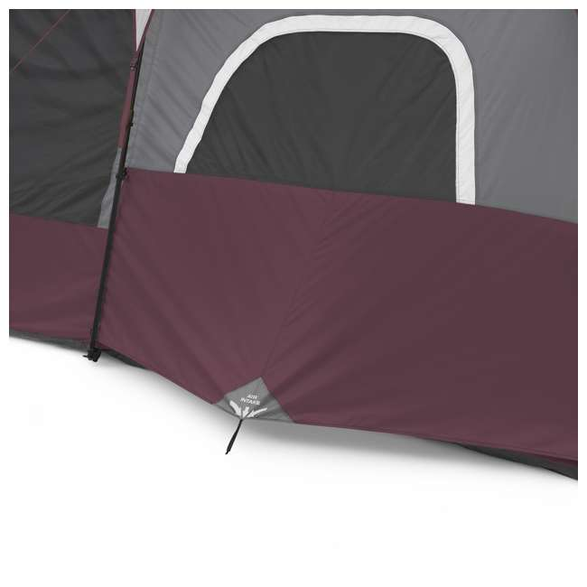CORE-40069 CORE Outdoor Family Camping 9-Person Pop Up Cabin Tent 8