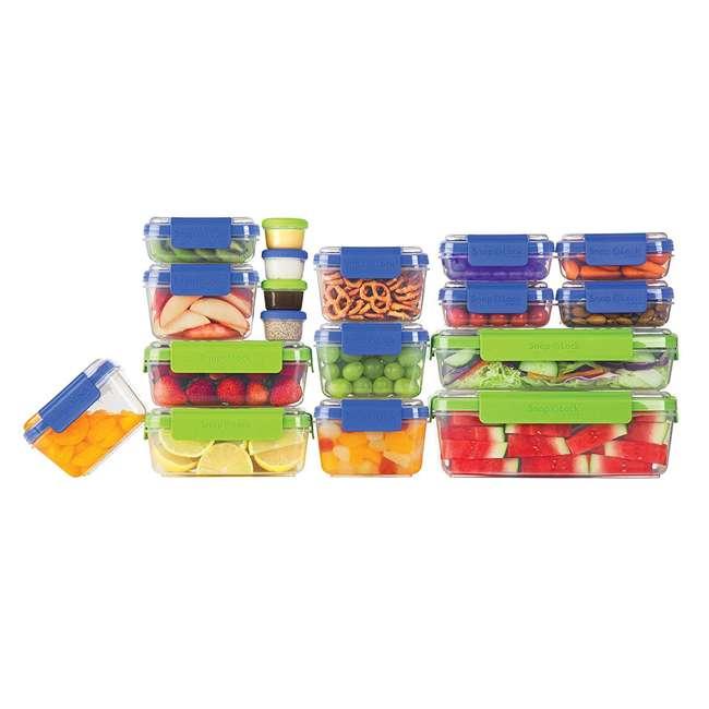SNL-36SET Progressive International Snaplock Snack To-Go 36 Piece Set