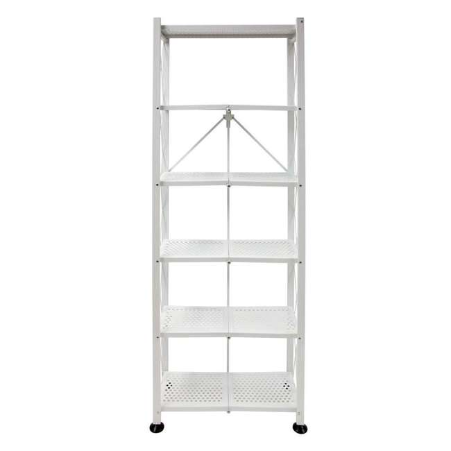 RB-03 Origami 6-Shelf Deco Rack Bookshelf, White