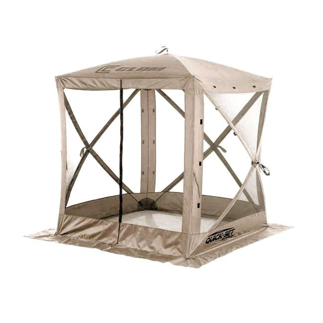 CLAM-TV-114243 Clam Quick-Set Traveler Portable Outdoor Gazebo (2 Pack) 2