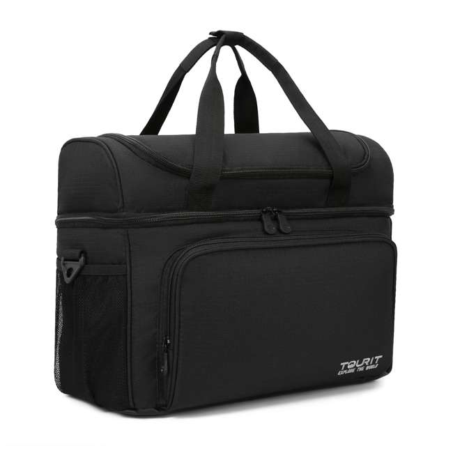 TR0260005A001 TOURIT TR0260005A001 Heron Soft Sided Insulated Lunch 15 Can Cooler Tote Bag