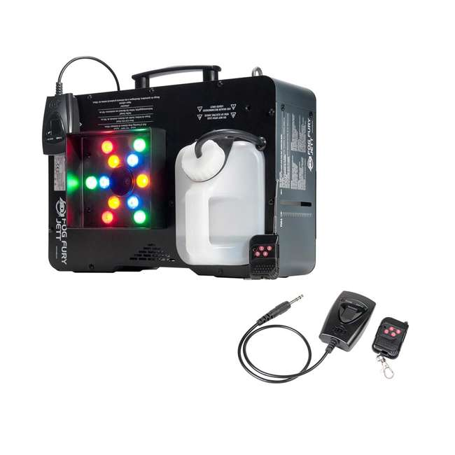4 x FOG-FURY-JETT American DJ Fog Fury Jett Smoke Machine & LED Lights with Wireless Remote (4 Pack) 2