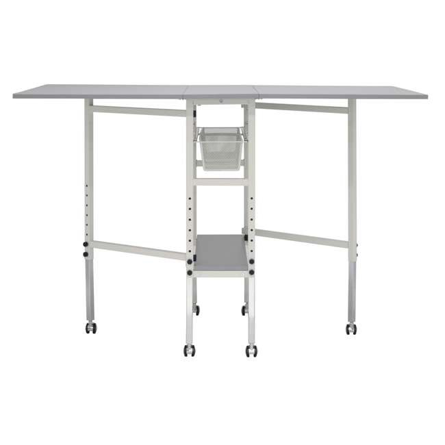 STDN-38011 Sew Ready Folding Hobby and Craft Table with Drawers 8
