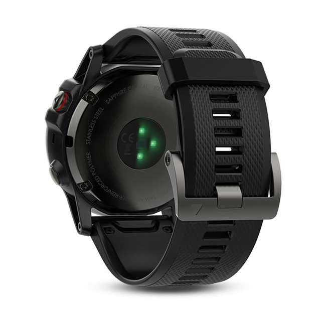 010-01733-00 Garmin Fenix 5X Multi-Sport 64 MB Smart Watch, Gray 3