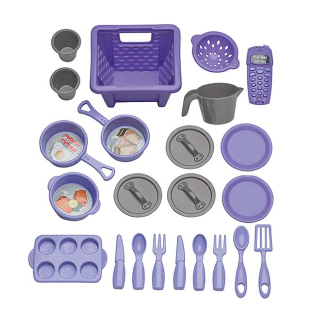 APT-11660 American Plastic Toys 11660 Kid My Very Own Sweet Treat Pretend Play Kitchen Set 1