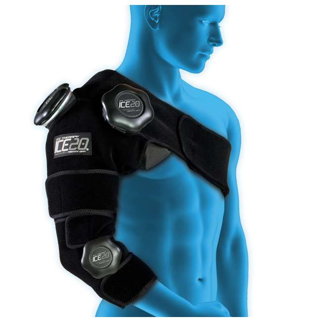 ICE-Combo Arm Bownet ICE20 Combo Ice Compression Wrap Ice-Combo Arm for Sports Arm Injuries